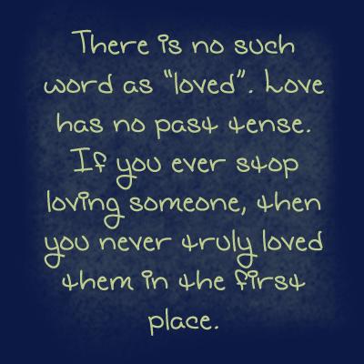 Loving Someone