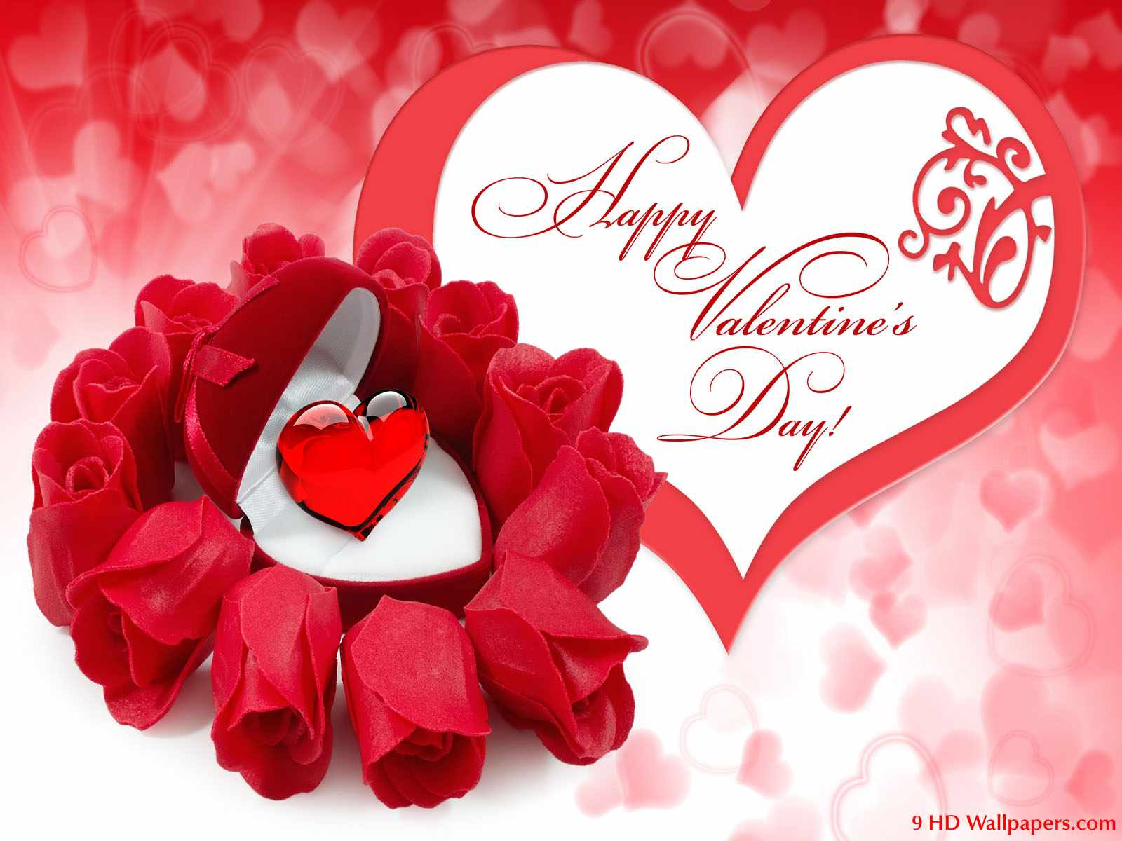 1 Happy Valentines Day Greeting Card 2014