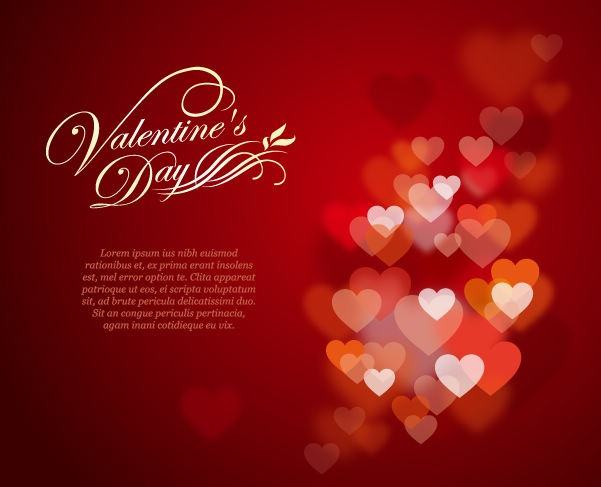 2 Happy Valentines Day Greeting Card 2014