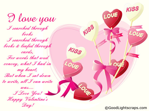3 Happy Valentines Day Greeting Card 2014