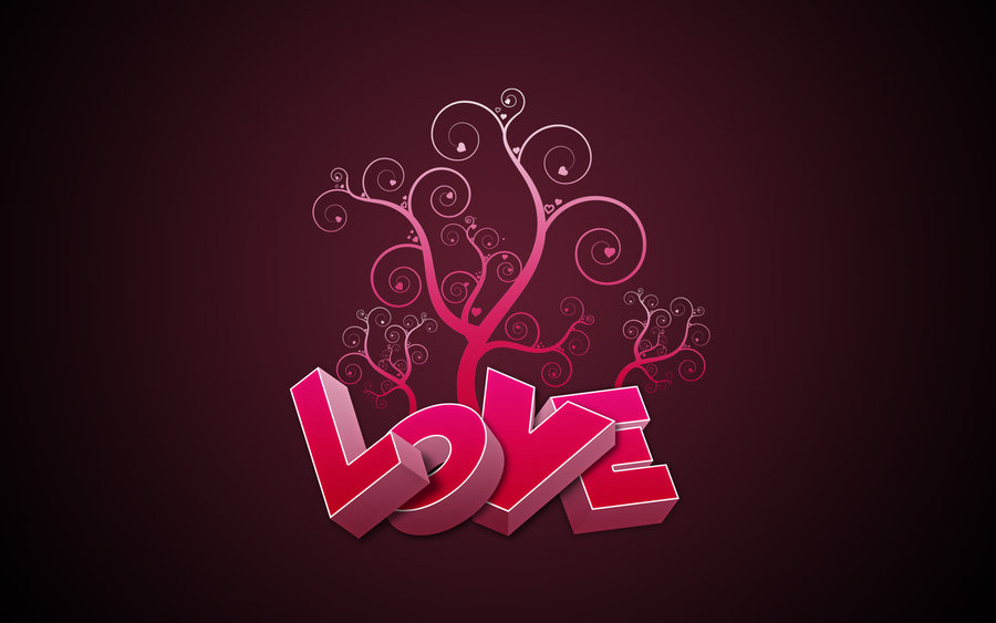 Happy Valentines Day Love Wallpaper