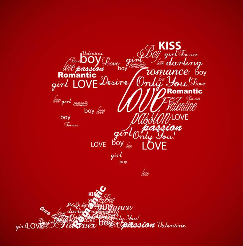 4 Happy Valentines Day Greeting Card 2014