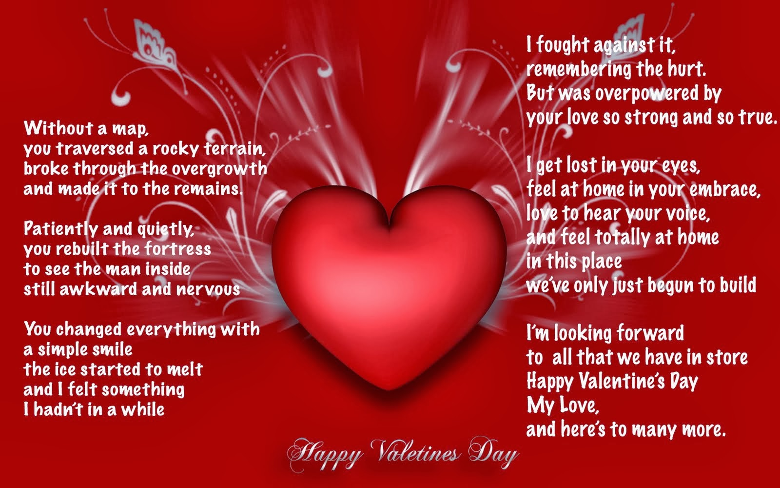 7 Happy Valentines Day Greeting Card 2014