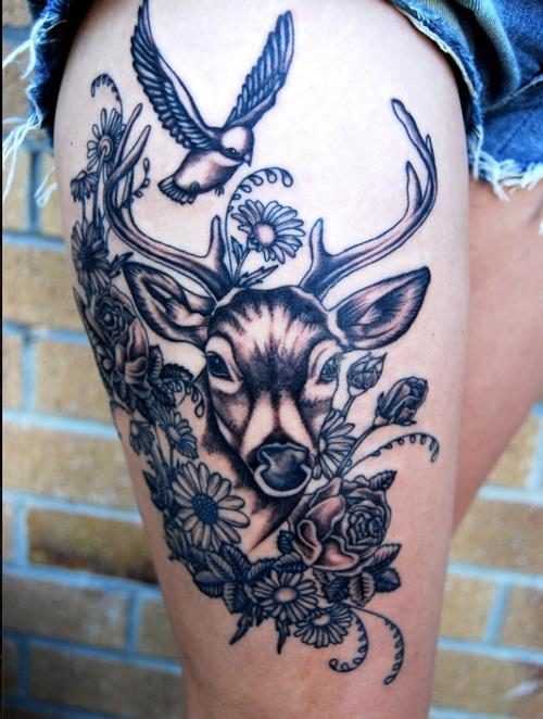Dear Tattoo Design