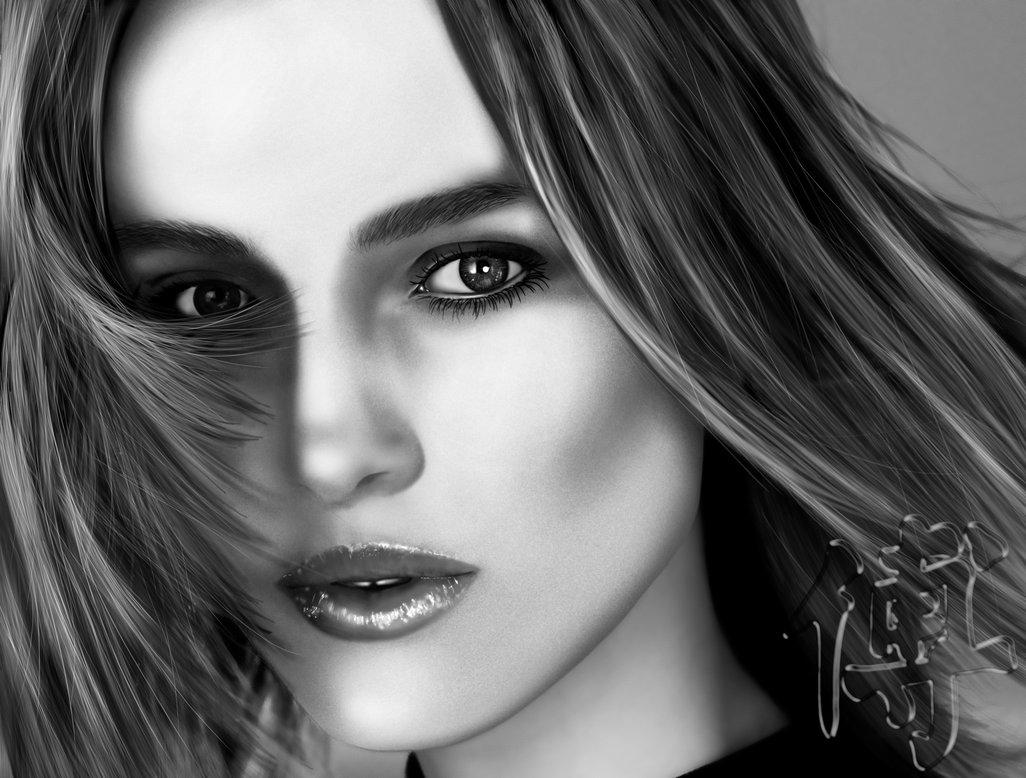 Digital Painting - Keira Knightley