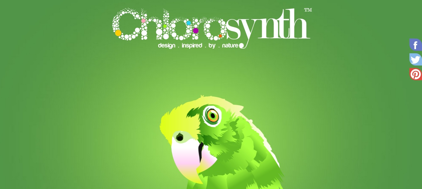 Green Website Design - Chlorosynth