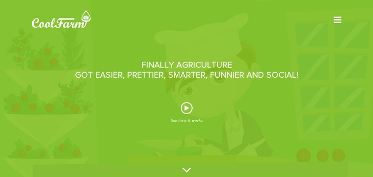 Green Website Design - CoolFarm