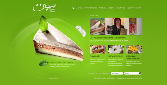 Green Website Design - Daguia
