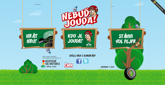 Green Website Design - Nebud-Jouda