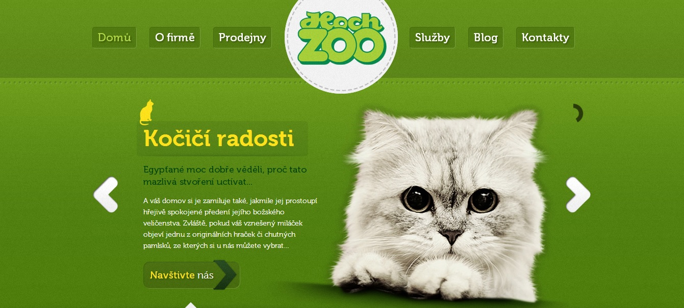Green Website Design - Zoo Hoch
