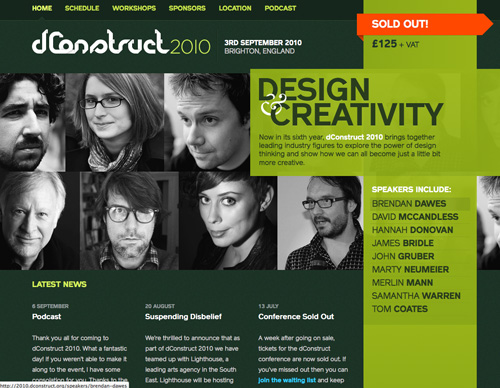 Green Website Design - dconstruct