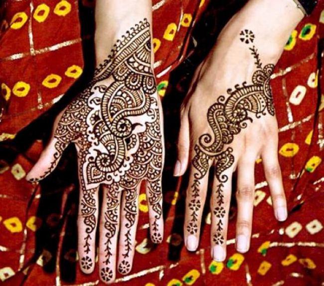 Best Eid Ul Fitr Mehndi Pattern