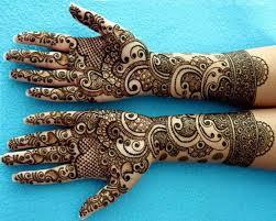 Brilliant Henna Pattern For Eid