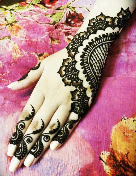 Eid Mehndi Design Pakistani