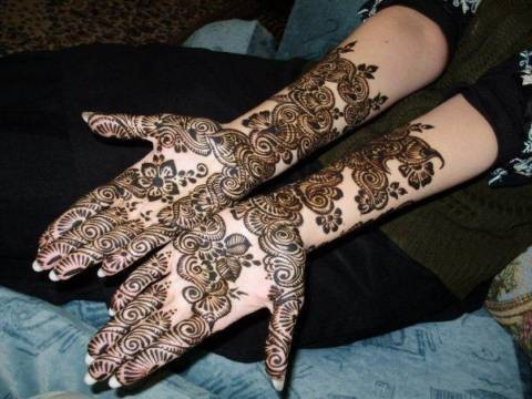 Eid Ul Fitr Arabic Mehndi Design