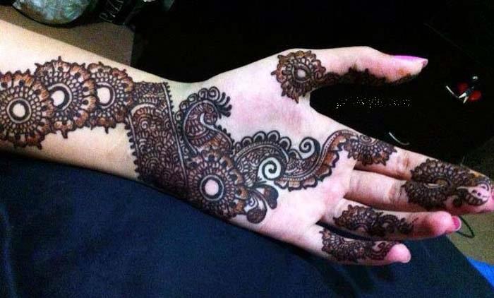 Eid Ul Fitr Mehndi Pattern