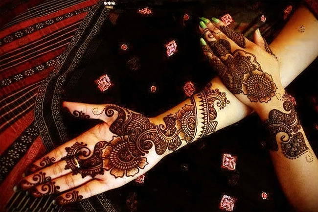 Lattest Mehndi Design For Eid Ul Fitr
