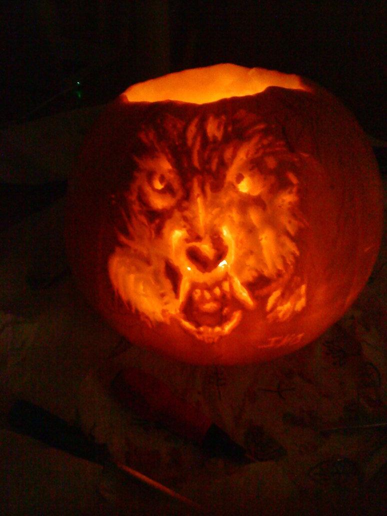 Spooky Pumpkin Carving Idea