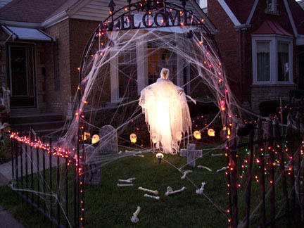 Spooky Halloween Decoration