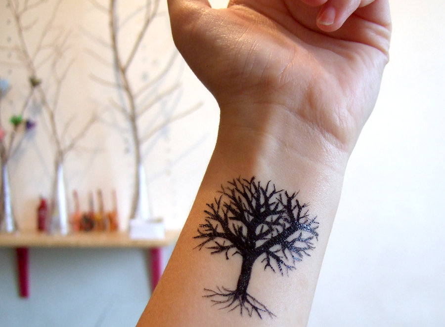 Lonely Tree tattoo