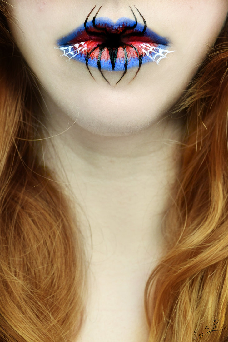 lip art makeup Eva Pernas