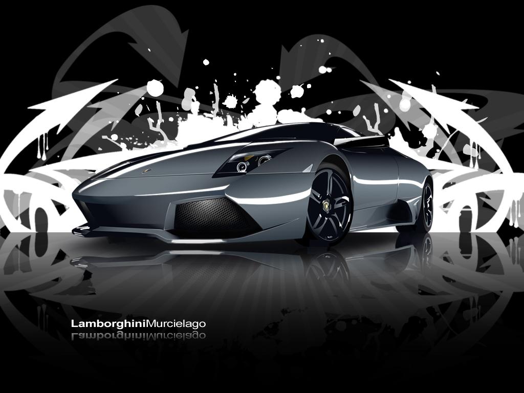 Lamborghini Murcielago wall