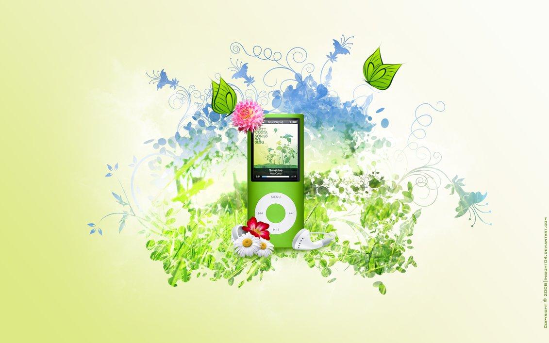 iPod Nano-Chromatic wallpaper