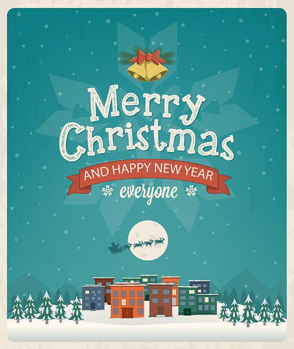 35 great christmas greeting card designs  entertainmentmesh