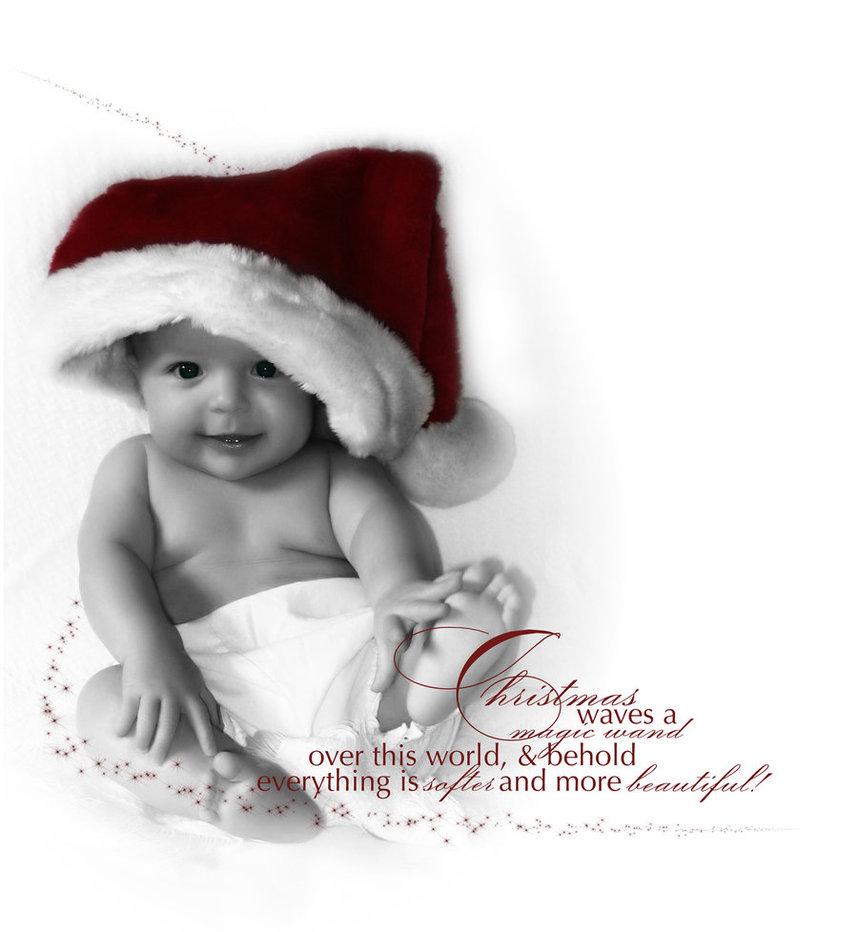 1 christmas card message