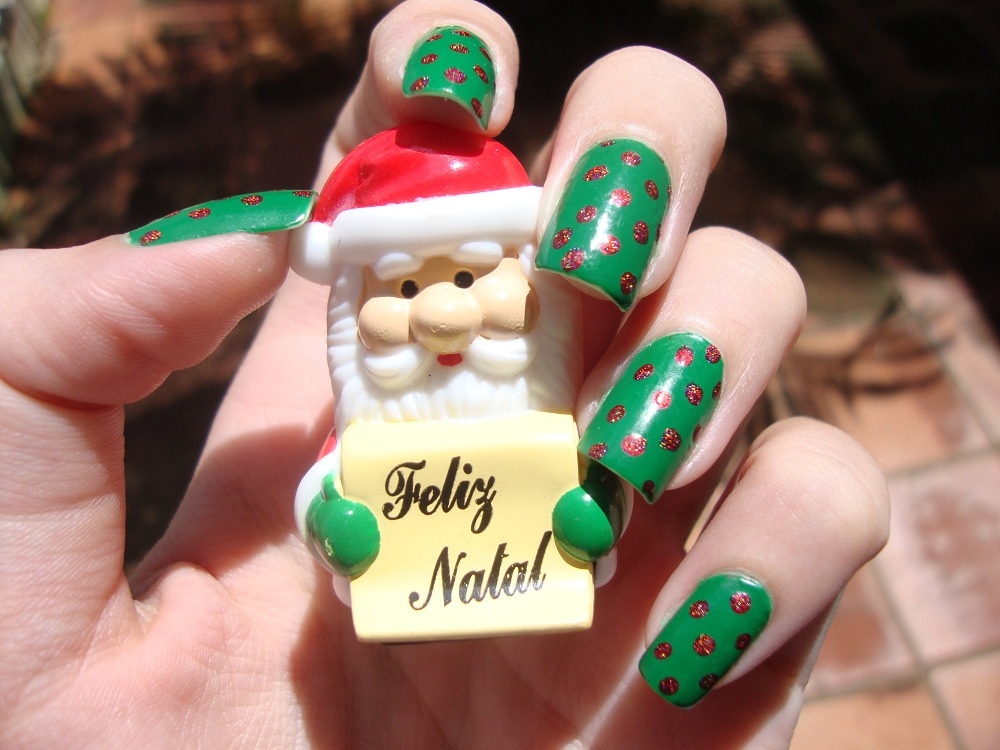 Christmas New Year Nail Art