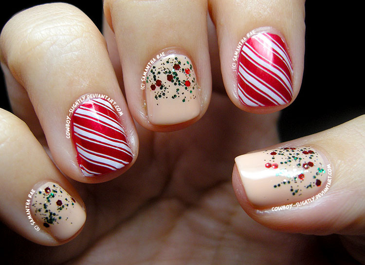 Nail Art Design for Chrismtas