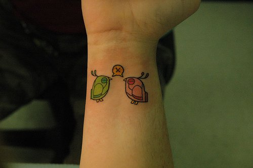 Cute Wrist Tattoo