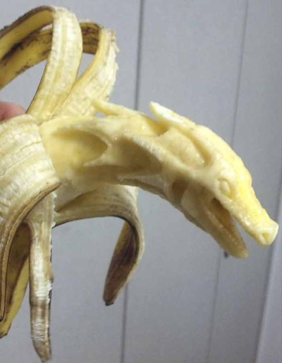 Banana sculpture