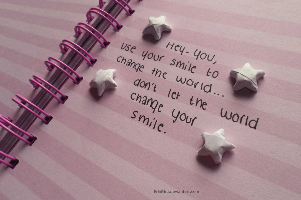 a smile quote