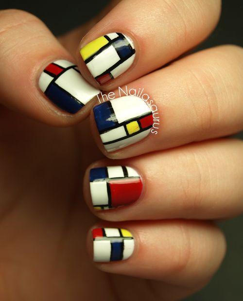 simple color nails