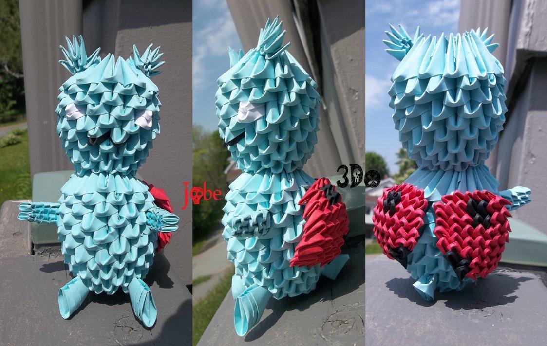 3D Origami - Catbug
