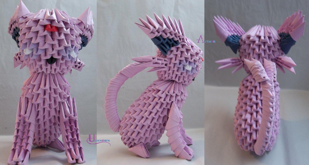 3D Origami - Espeon