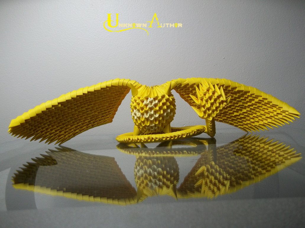 3D Origami - Timcanpy