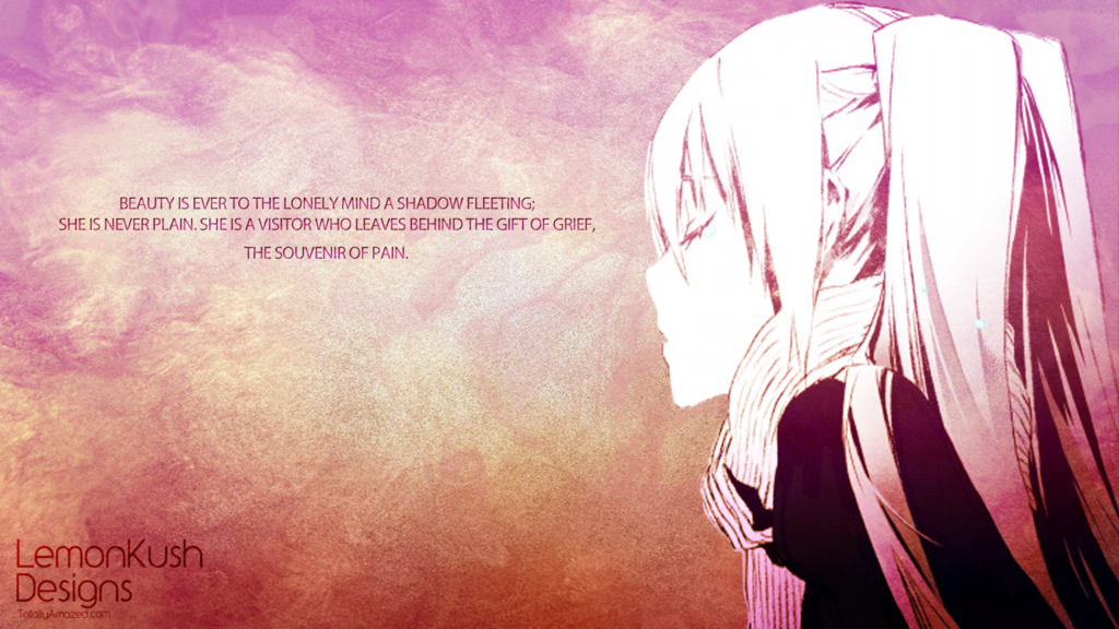 Anime Lonely Wallpaper