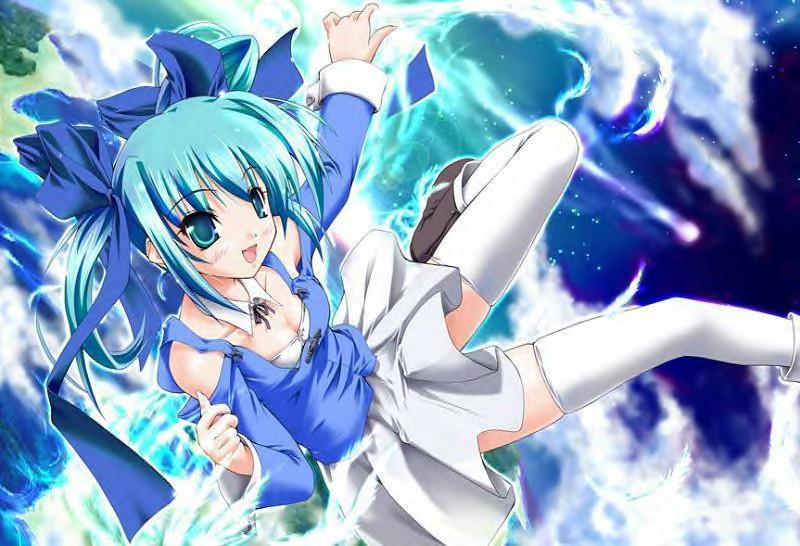 Anime girl desktop