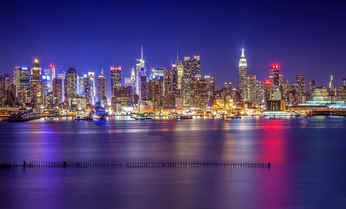 New York - The Colored Night