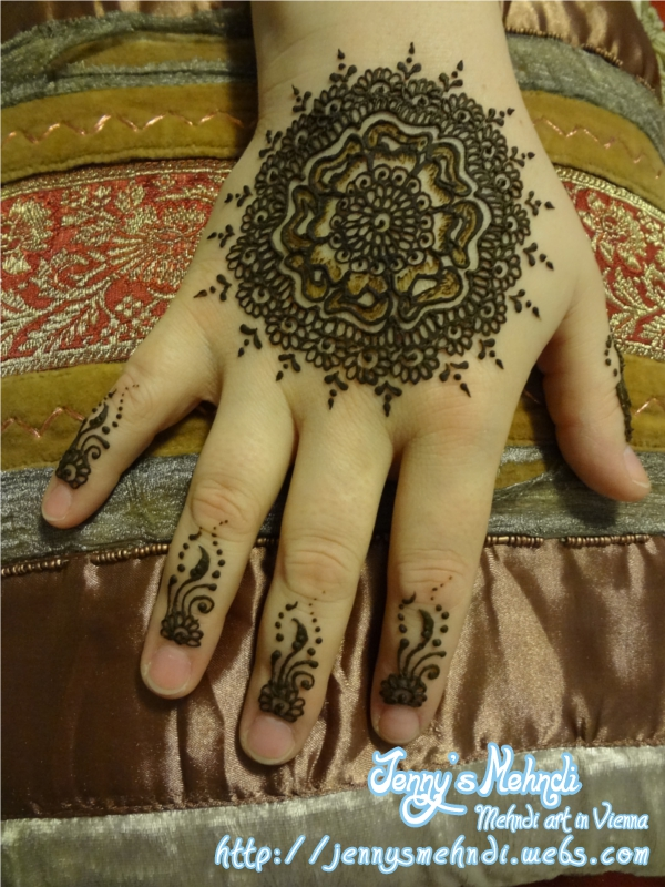 New tikya mehndi designs