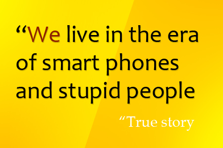 funny quote of smart phones