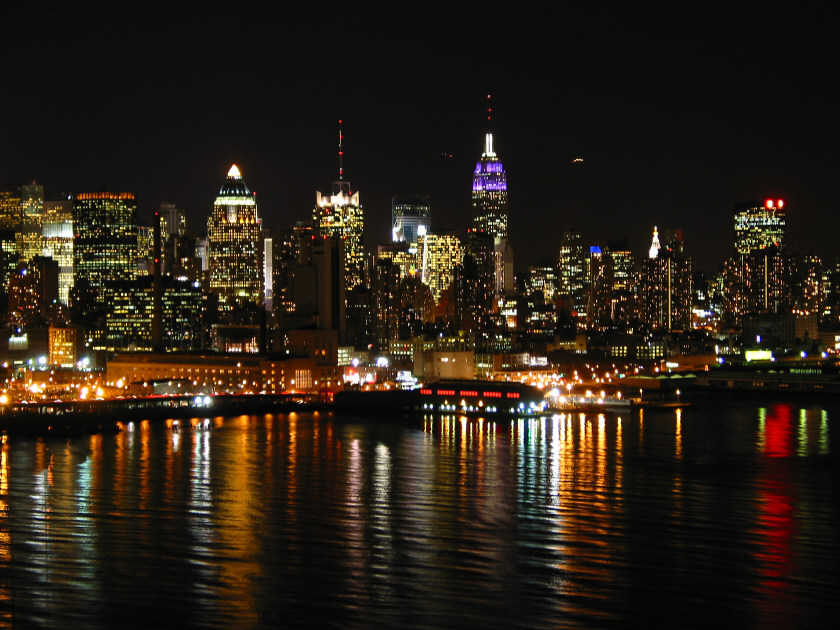 new york city night