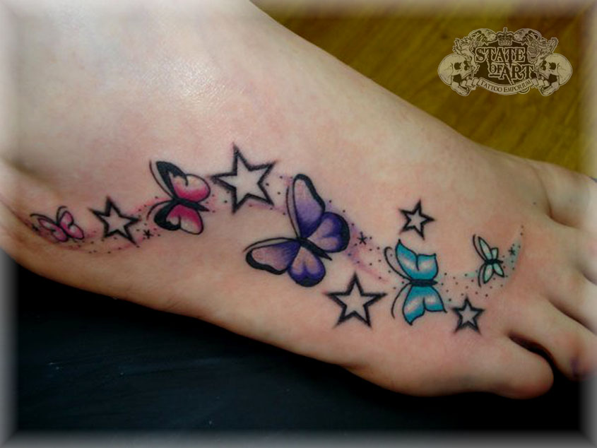 BUTTERFLYS AND STARS