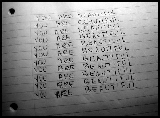 You are beautiful 5