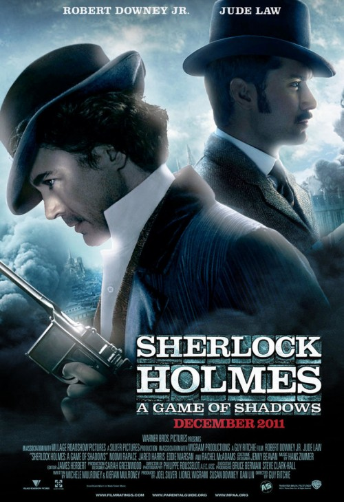 Sherlock Holmes - brilliant movie poster