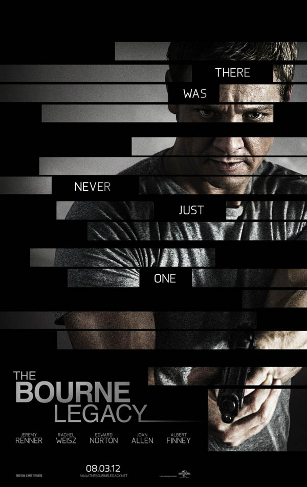 The Bourne Legacy - great movie poster design