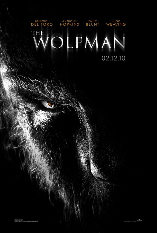 The Wolfman - best movie poster