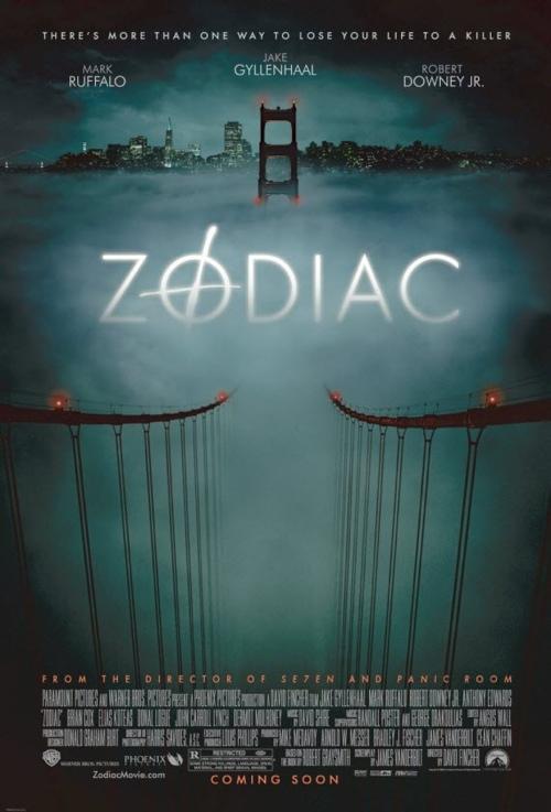 Zodiac - great movie poster design